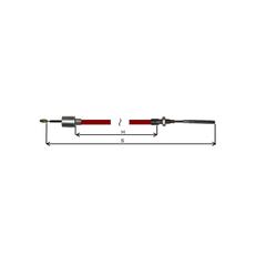 Cablu Frana AL-KO cu filet 1020/1230