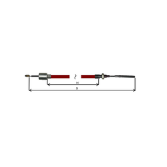 Cablu Frana AL-KO cu filet 1130/1340
