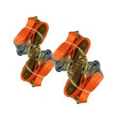 Set chingi ancorare autoturisme 2 puncte cu adaptor 3,5 cm