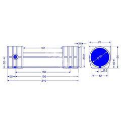 Bucsa ghidare dispozitiv BPW ZAF 1.5-2 si ZAF 2.0-2