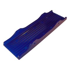 Placa PVC KNOTT 3 X 12 albastra