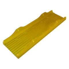 Placa PVC KNOTT 3 X 12 galbena