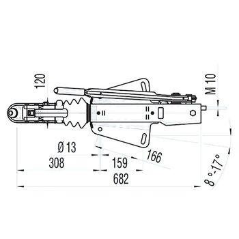 Dispozitiv inertial  AL-KO 161 S