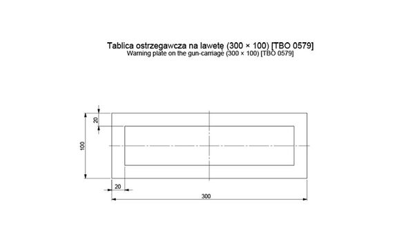 Set placa reflectorizanta remorca TBO579