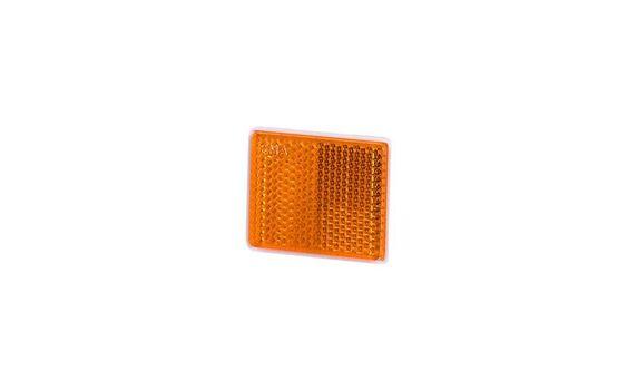 Reflectorizant patrat galben UO235 cu adeziv