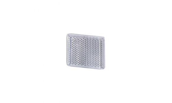 Reflectorizant patrat alb UO234 cu adeziv